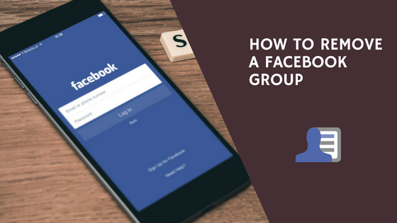 How to remove a Facebook Group blog graphic