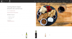 Galway Rock Winery home page