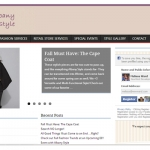 Albany Style website screenshot