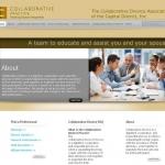Collaborative Divorce Association website screenshot