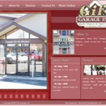 Gils Garage old web site screenshot