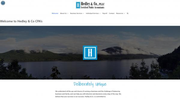 hedley cpa website