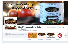 Meesh's Marinara Facebook Page