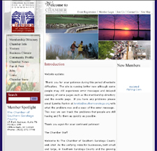 Chamber of Southern Saratoga County (original web site)