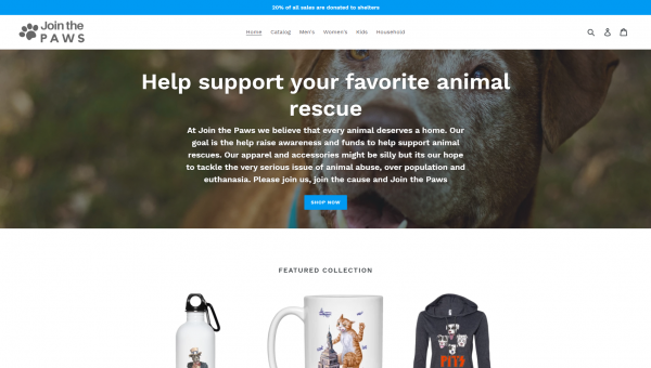 join the paws website